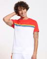 Shop No Hate Color Block T-Shirt-Front