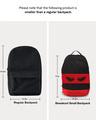 Shop I Look at You Printed Small Backpacks-Full