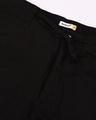 Shop Jet Black Casual Cotton Trouser