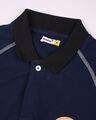 Shop Marvel Shield Pageant Blue Raglan Polo T-Shirts