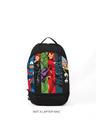 Shop Marvel Stripes Printed Small Backpacks-Front