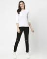 Shop Women's Melange Raglan T-Shirt
