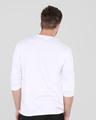 Shop Men's Full Sleeve T-Shirt Pack of 3(Black,White & Bold Red )