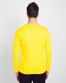 Shop Men's Full Sleeve T-Shirt Pack of 3(Tropical Blue,Bold Red & Pineapple Yellow )