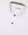 Shop White Seersucker Slim Fit Casual Shirt