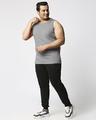 Shop Meteor Grey Plus Size Vest-Full
