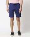 Shop Minimal Anchor AOP Shorts-Back