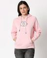 Shop Minnie Love Sweatshirt Hoodie-Front