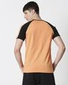 Shop Orange Rush Shoulder Sleeve Raglan T-Shirt-Full
