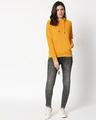 Shop Mustard Yellow Hoodie Sweatshirt-Full