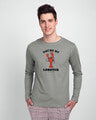 Shop My Lobster  Full Sleeve T-shirt  (FRL)-Front