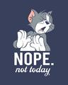 Shop Not Today Tom Half Sleeve T-Shirt (TJL)-Full