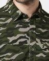 Shop Olive Camo Full Sleeve Camo Shirt