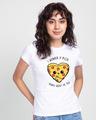 Shop Pizza Thanks Half Sleeve T-Shirt-Back