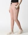 Shop Plain Jogger Pants With Zipper-Design