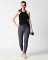 Shop Women Jogger Pants With Zipper
