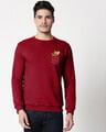 Shop Pocket Jerry Fleece Sweater-Front