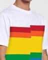 Shop Pride Panel White T-Shirt