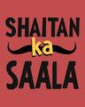 Shop Shaitan Ka Saala Half Sleeve T-Shirt-Full
