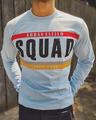 Shop Sky Blue Squad Printed Full Sleeves T Shirt-Design