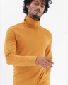 Shop Mustard Full Sleeves T Shirt With Face Cover-Back