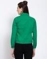 Shop Womens Green Solid Denim Jackets-Design