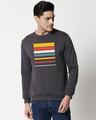 Shop Sunset Block Fleece Sweater-Front