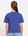 Shop Too Cool For You Pocket Stripe Short Top-Full