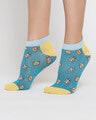 Shop Travel Fa No Show Socks-Back