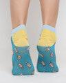 Shop Travel Fa No Show Socks-Design