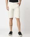 Shop Men's Linen Relaxed Shorts-Back