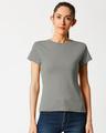 Shop Women's Half Sleeve Rib T-shirt-Back