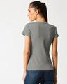 Shop Women's Half Sleeve Rib T-shirt-Full