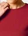 Shop Women's Half Sleeve Rib T-shirt