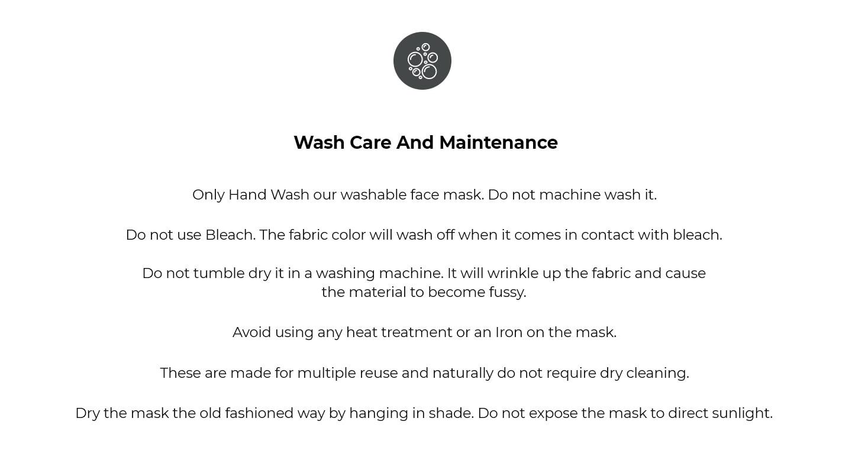 2-Layer Everyday Protective Mask - Pack of 3 (Jet Black-Prussian Blue-Dark Forest Green) Description Image Website 4@Bewakoof.com