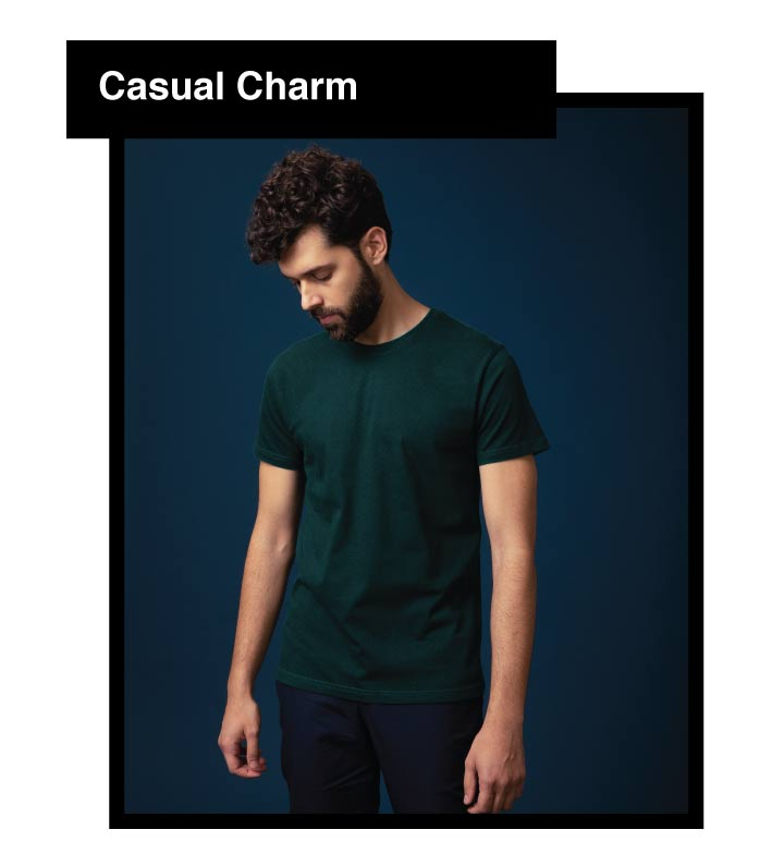 Case Kheyeche Half Sleeve T-Shirt Description Image Mobile Site 4@Bewakoof.com