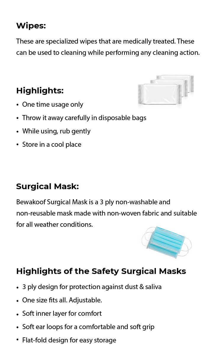 Premium Protective Gear Kit - Pack of 2 Description Image Mobile Site 3@Bewakoof.com
