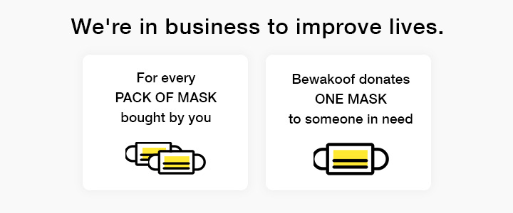 3M Folded Dust/Mist Respirator 9004IN Mask Pack of 3 Description Image Mobile Site 1@Bewakoof.com