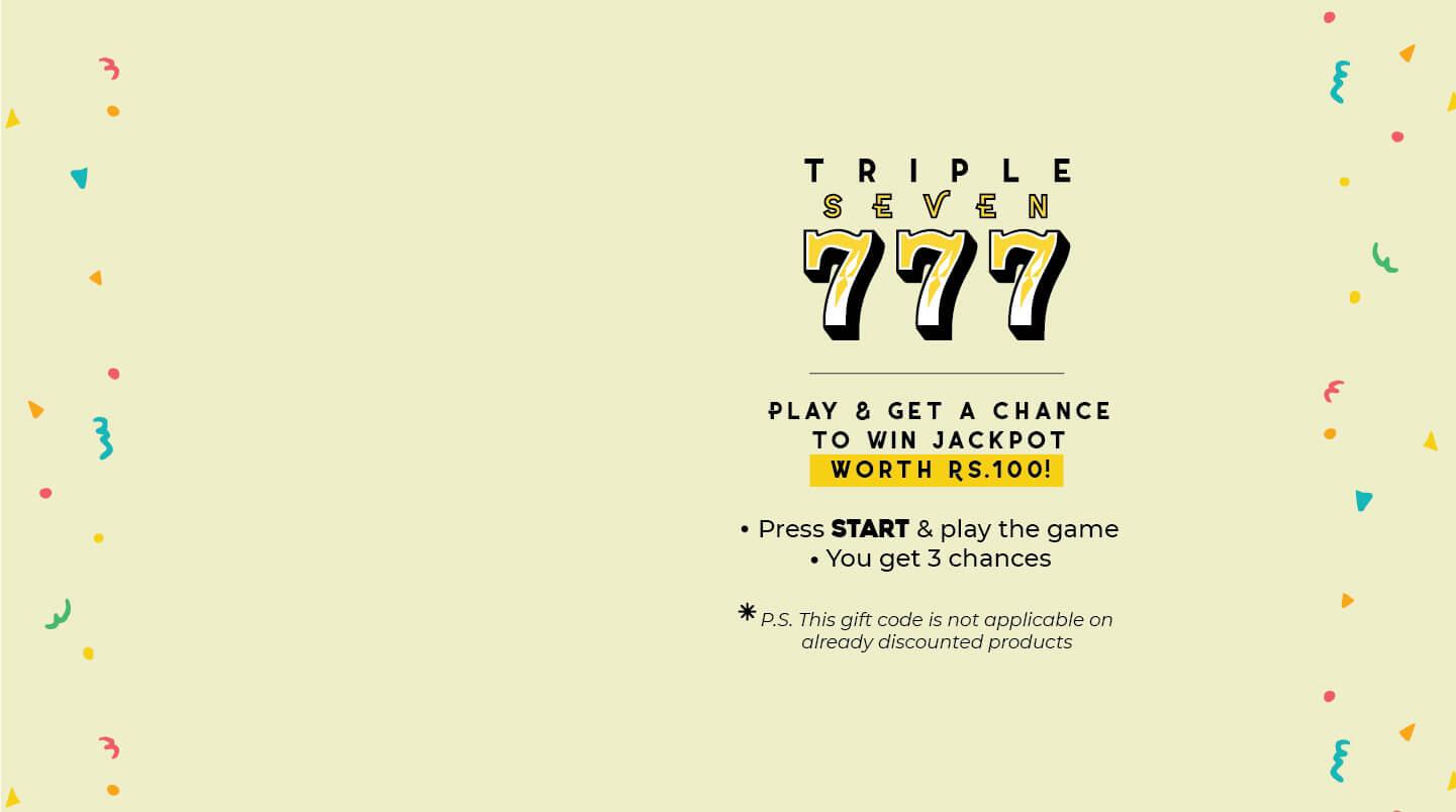 triple seven jackpot