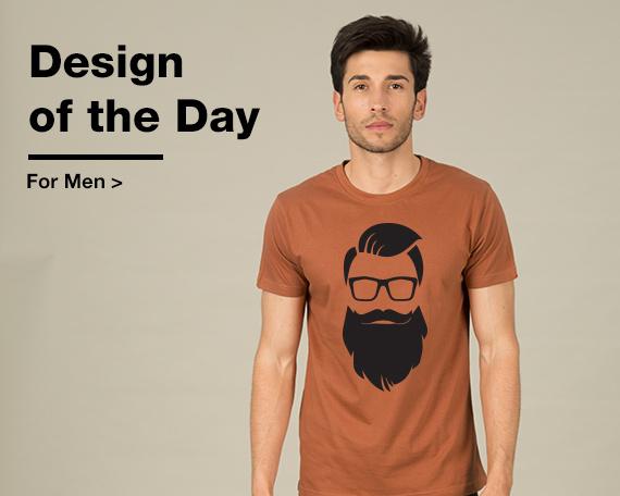 Design Of The Day for Men - Bewakoof.com