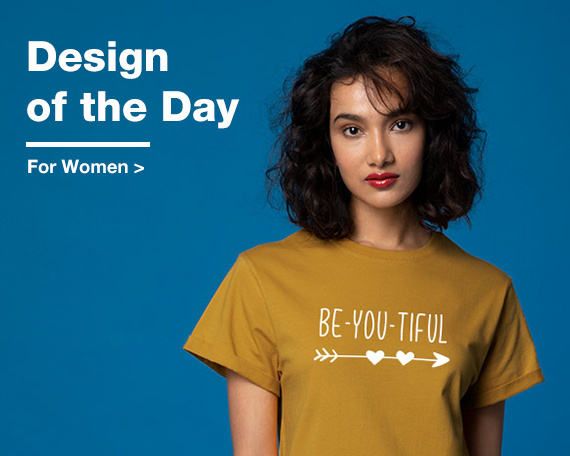 Design Of The Day for Women - Bewakoof.com