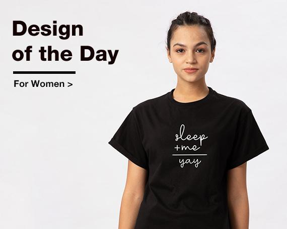 Design Of The Day for Women - Bewakoof.com