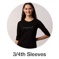 3-4 th sleeve for Women