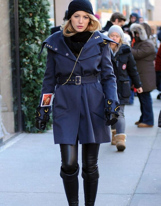Blake Lively Winter Outfits Ideas 2 - Bewakoof Blog