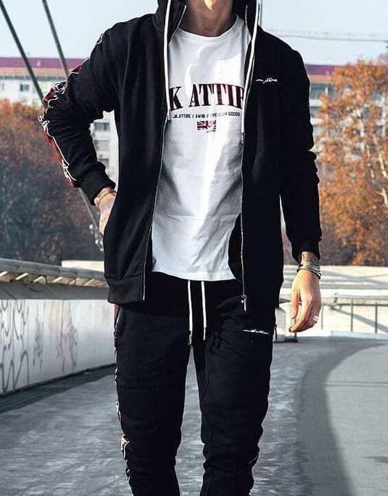 Hoodies and Track Pants