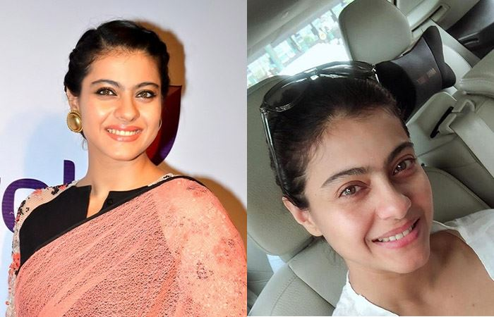 Kajol - Bollywood Actresses Without Makeup | Bewakoof Blog