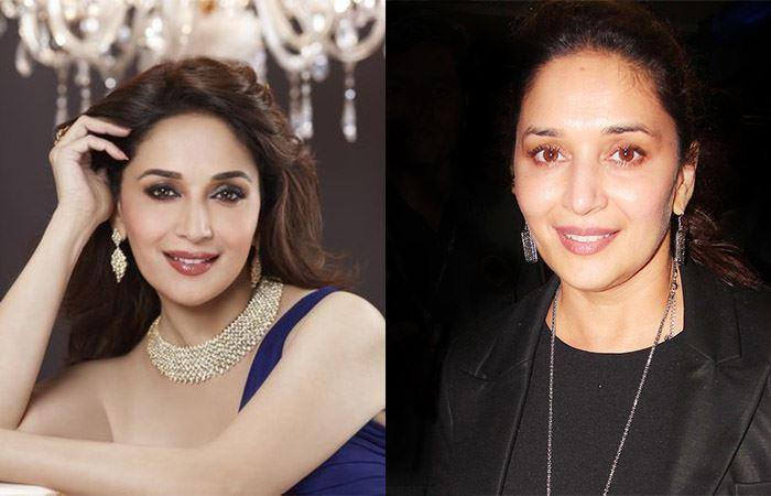 Madhuri dixit - Bollywood Actresses Without Makeup   Bewakoof Blog