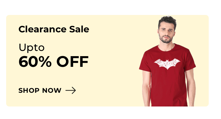 Clearance Zone for Men - Bewakoof.com