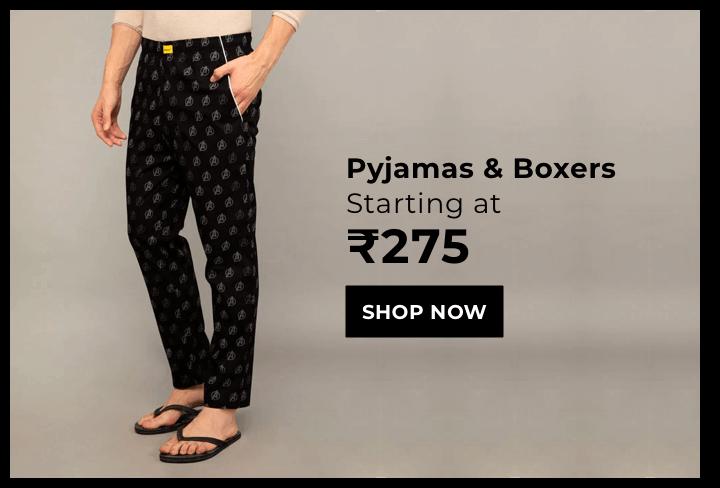 Pyjamas & Boxers for Men