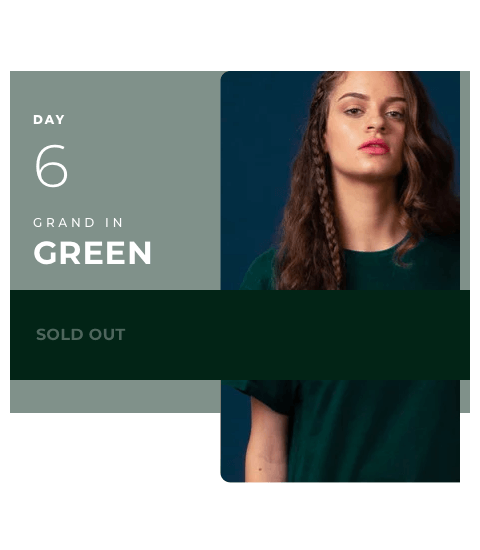 Day 6 - Green Color | Navratri 2019